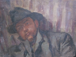 Portret door HJ Wolter