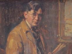 Portret door Willem van Nieuwenhoven